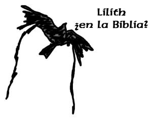 Lilith ¿en la Biblia?