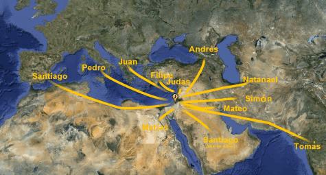 El Viaje de los Evangelios – En la Biblia