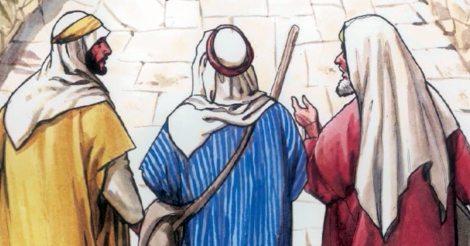 Jesús y los dos....