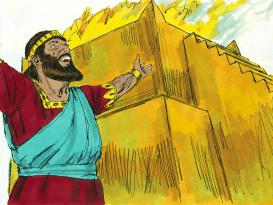 La oración del rey Salomón